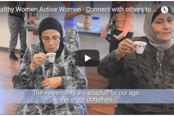 Connect with others to move | Healthy Women Active Women