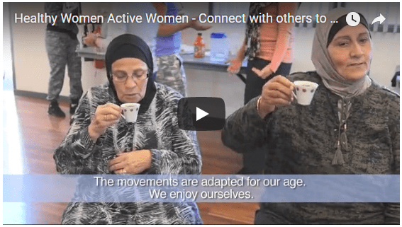 Connect with others to move   Healthy Women Active Women