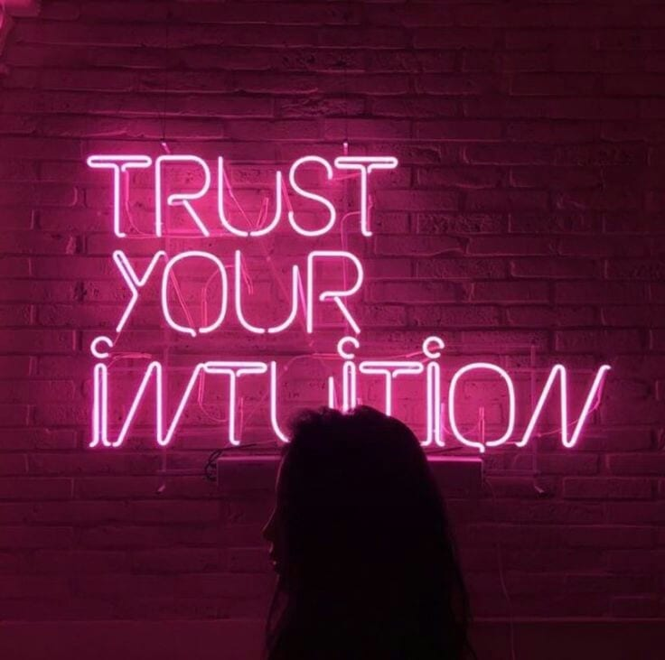 Trusting your intuition when something doesn't feel right