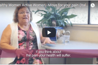 Move for your pain | Healthy Women Active Women