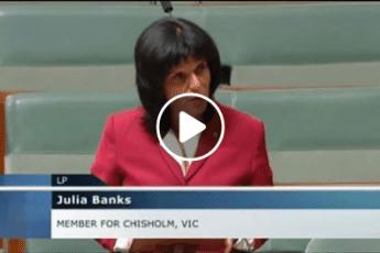 Julia Banks MP spotlights Her Heart during Women's Health Week