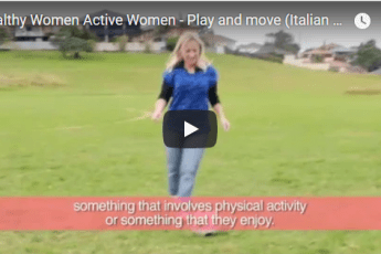 Play and Move | Healthy Women Active Women