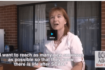 Survivor of deadly heart disease SCAD leads nationwide support campaign