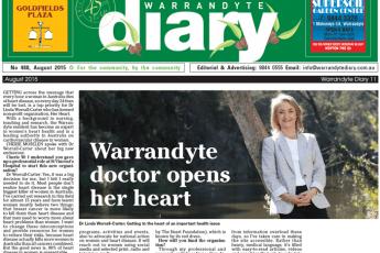 Warrandyte doctor opens her heart