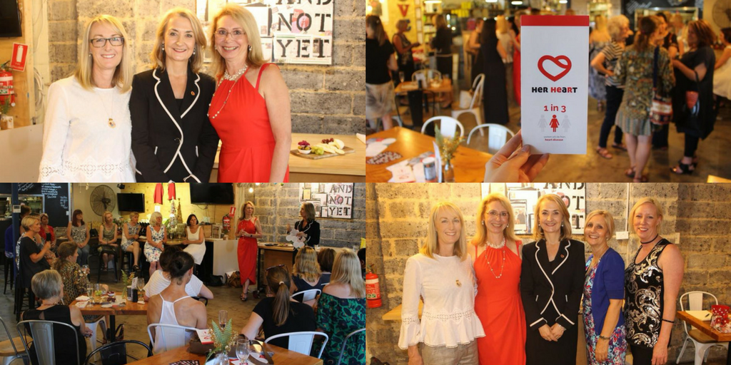 Her Heart attended Women In™ Business event