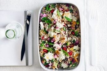 Roasted cauliflower tabbouleh